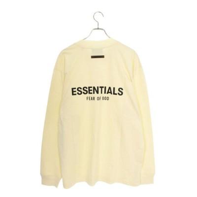 フォグ FOG ESSENTIALS L/S TEE サイズ:L バックラバーロゴ長袖カットソー 中古 OM10