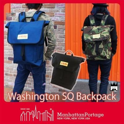 マンハッタンポーテージ Manhattan Portageメンズ レディース MP1220LVL ワシントン SQ バックパック デイパック リュック 迷彩 バッグ