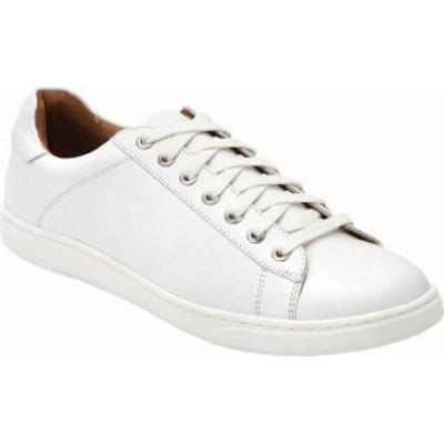 バイオニック メンズ スニーカー シューズ Baldwin Cupsole Sneaker White Leather