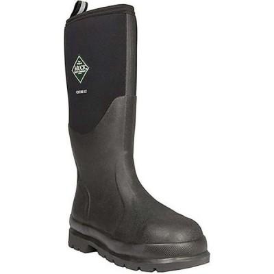 マックブーツ Muck Boots メンズ ブーツ シューズ・靴 Muck Chore Steel Toe Hi Boot Black