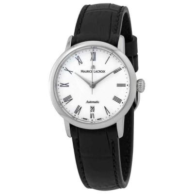 モーリス・ラクロア 腕時計 Maurice Lacroix Les Classiques レ・クラシック Automatic White ホワイト Dial Ladies WatchLC6063-SS001-110