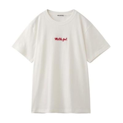 MILKFED. / BASIC ICING S/S TEE WOMEN トップス > Tシャツ/カットソー