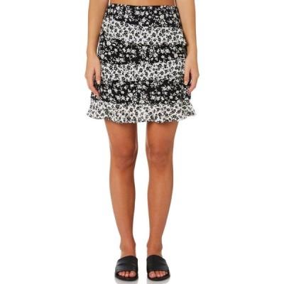 ミンクピンク Minkpink レディース ミニスカート スカート evie mini skirt Black floral