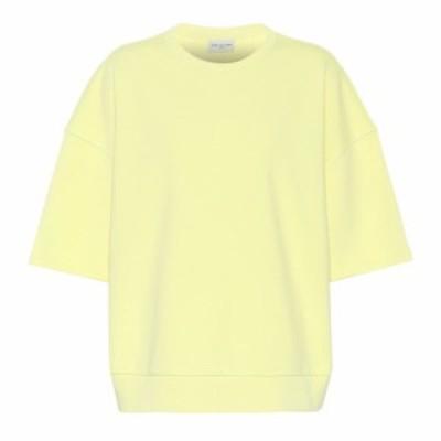 ドリス ヴァン ノッテン Dries Van Noten レディース スウェット・トレーナー トップス Oversized cotton sweatshirt lime