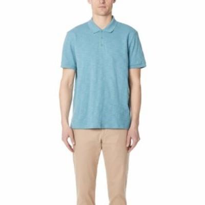 ヴィンス ポロシャツ Short Sleeve Classic Polo Shirt Harbor