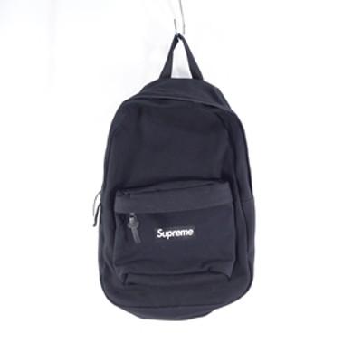 Supreme 20aw Canvas BackPack キャンバス バックパック リュック 黒 ブラック 大名店 【中古】