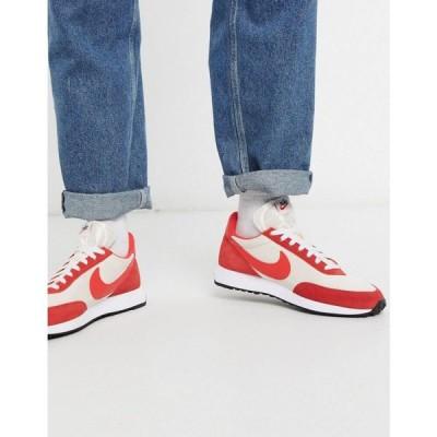 ナイキ Nike メンズ スニーカー シューズ・靴 Tailwind '79 trainers in off white/red