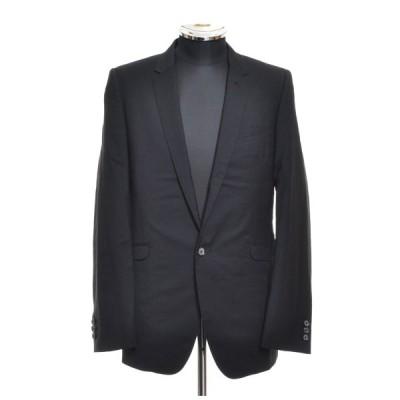 MIHARA YASUHIRO ミハラヤスヒロ テーラードジャケット サイズ46 ウール シルク 背抜き 日本製 メンズ ブラック
