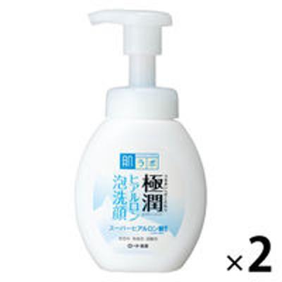 ロート製薬肌ラボ 極潤 ヒアルロン泡洗顔 160mL ×2個 ロート製薬