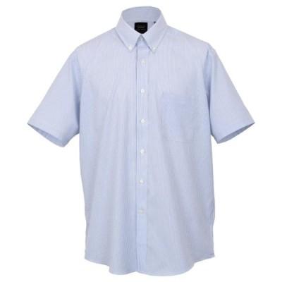 オックスフォードニューヨーク メンズ 半袖ドレスシャツ