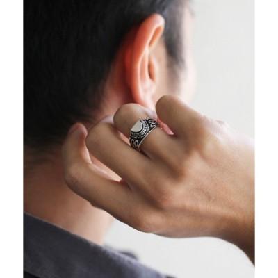 指輪 ハーフ カレッジ リング ブランド オリジナル アクセサリー