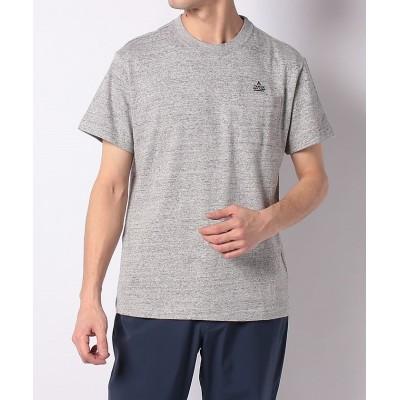 【販売主:スポーツオーソリティ】 タラスブルバ/メンズ/胸ポケットTシャツ メンズ 杢 グレー LL SPORTS AUTHORITY