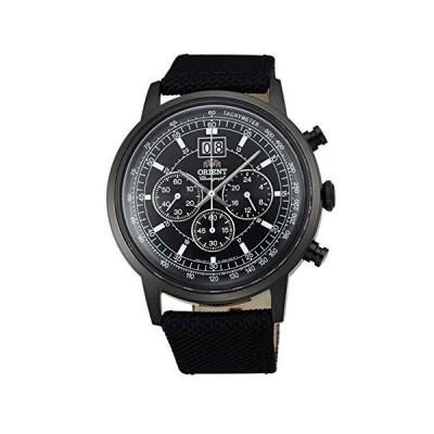 [オリエント時計] 腕時計 ビッグデイト FTV02001B0 メンズ 正規輸入品 ブラック