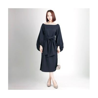 MARTHA(マーサ) ワイドベルトワンピース (ワンピース)Dress