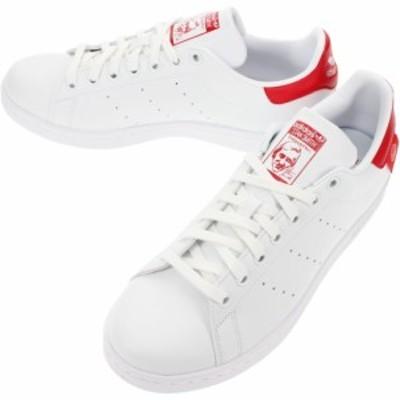 アディダス adidas スニーカー スタンスミス STAN SMITH フットウェアホワイト/スカーレット FZ2704