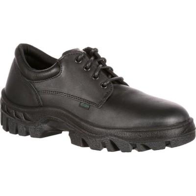 ロッキー Rocky Boots メンズ 革靴・ビジネスシューズ シューズ・靴 Rocky TMC Postal-Approved Plain Toe Oxford Shoe black