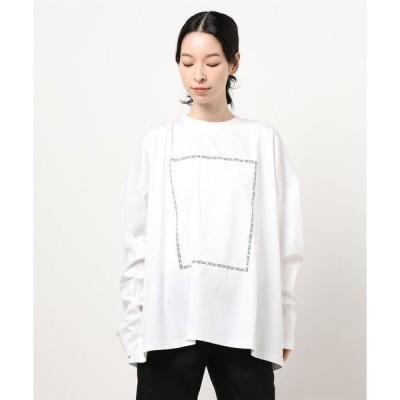 tシャツ Tシャツ DankeSchon/ダンケシェーン/リフレクトシルケットロンT