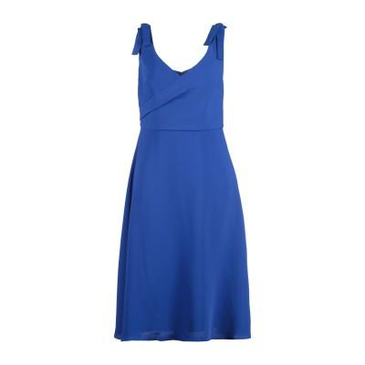 MIKAEL AGHAL 7分丈ワンピース・ドレス ブライトブルー 14 ポリエステル 100% 7分丈ワンピース・ドレス