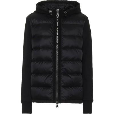 モンクレール Moncler レディース ダウン・中綿ジャケット アウター Cotton-jersey and down jacket
