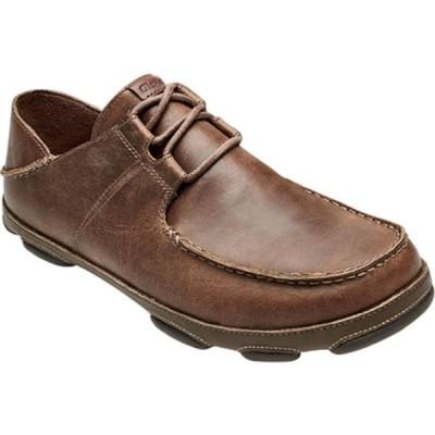 オルカイ ブーツ&レインブーツ シューズ メンズ Ohana Li 'Ili Slip On Shoe (Men's) Tan/Mustang Full Grain Leather