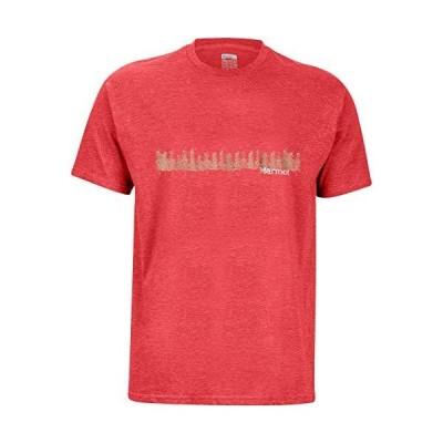 海外取寄品--Marmot Forest Tシャツ 半袖 US サイズ: Large カラー: ピンク