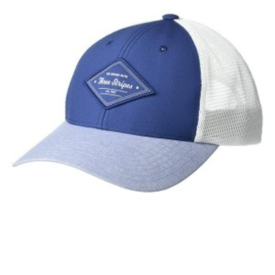 アディダス レディース 帽子 アクセサリー Printed Mesh Back Hat Tech Indigo