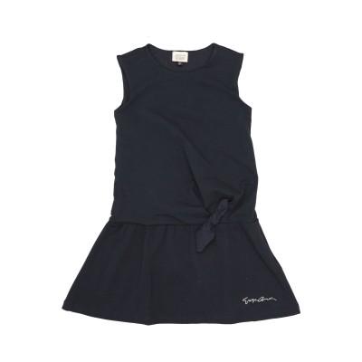 ARMANI JUNIOR ワンピース&ドレス ダークブルー 8 コットン 100% ワンピース&ドレス