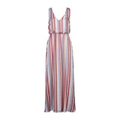 VILA ロングワンピース&ドレス ホワイト 34 ポリエステル 100% ロングワンピース&ドレス
