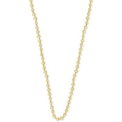 """エフィー EFFY Collection ユニセックス ネックレス EFFY Cultured Freshwater Pearl (3mm) 20"""" Statement Necklace in 18k Gold-Plated Sterling Silver"""