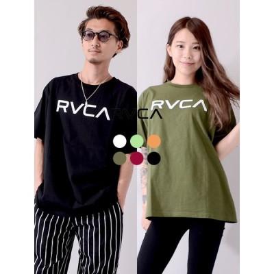【ゆうメール便送料無料】RVCA ルーカ Tシャツ レディース メンズ 半袖 BIG RVCA SS ビッグ ルカ BA041-204