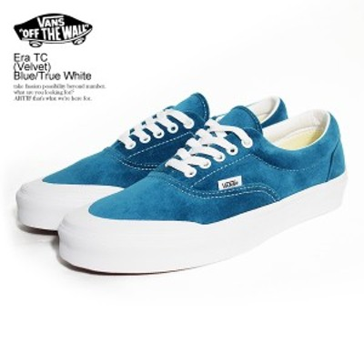 VANS バンズ Era TC (Velvet) Blue/True White メンズ スニーカー エラ ヴァンズ ストリート 正規品・正規取扱店 atfacc