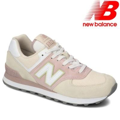 ニューバランス レディース スニーカー WL574LBL シューズ NEWBALANCE 靴 ホワイト ピンク