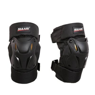 ひざすねプロテクター 2個入 オートバイ 膝プロテクター バイク 保護パッド 膝脛プロテクター  膝当て 膝ブレース スケートヒザパッド ロッククライミング rb01