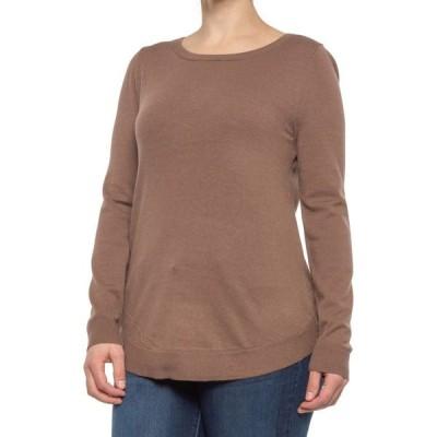 キュピオブラッシ Cupio Blush レディース ニット・セーター トップス knit sweater Toasted Chestnut