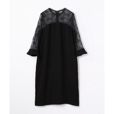 TOMORROWLAND / トゥモローランド sophistique′ FLICKA レース切替えドレス