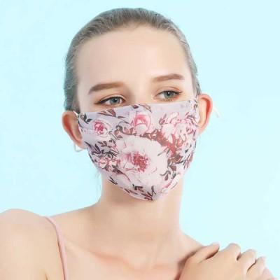 シルクマスク シルク 洗えるマスク マスク 繰り返し使える 無地 絹 春 夏 レディース 大人 薄手 おしゃれ 花粉症対策 ウイルズ対策 柔らか 通気性