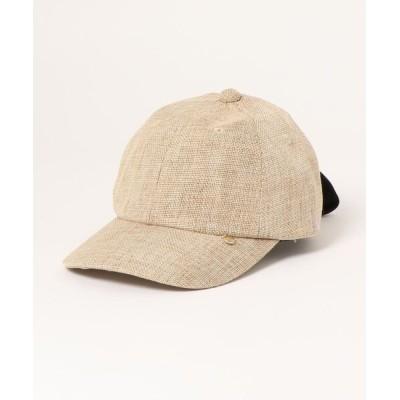 a.v.v / [KIDS]ザツザイバックリボンキャップ KIDS 帽子 > キャップ
