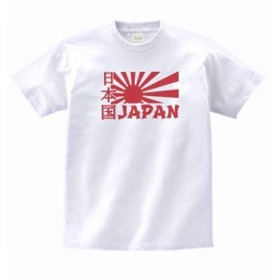 デザイン Tシャツ 日本 JAPAN 白