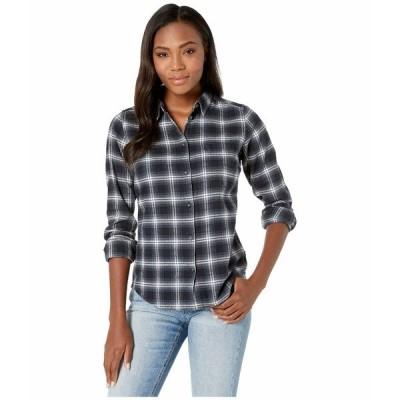 フェールラーベン シャツ トップス レディース vik Flannel Shirt Dark Navy