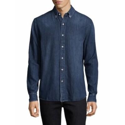 ジョーズジーンズ Men Clothing Jimmy Denim Cotton Sportshirt