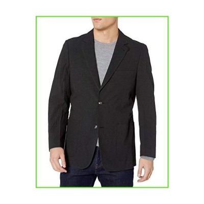 Kroon Men's Bono 2 Seersucker Cotton, Charcoal, 44 Long【並行輸入】【新品】
