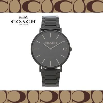 特価! COACH コーチ 14602431 CHARLES チャールズ クオーツ 41mm ブラック メンズ 腕時計