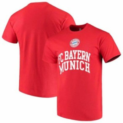 Levelwear レベルウェア スポーツ用品  Levelwear Bayern Munich Red Arch Cotton T-Shirt