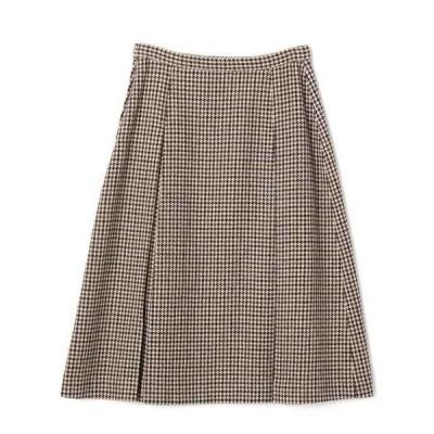 スカート ESTNATION / ガンクラブチェックボックスプリーツスカート