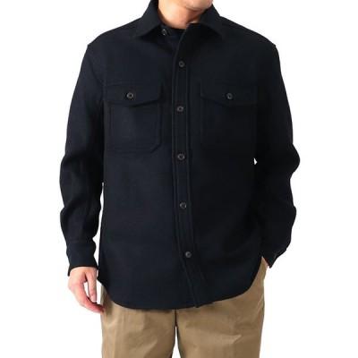 Scye サイ メルトンウール CPOジャケット 1120-33047 ウールシャツ メンズ