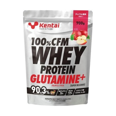 ケンタイ(kentai) 100%CFMホエイプロテイン アップル風味 700g K223 健康体力研究所 プロテイン 筋力系
