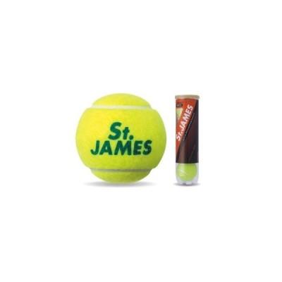 ダンロップ テニスボール セントジェームス 4個入りボトル St.JAMES 硬式 ボール プレッシャーボール SRIXON DUNLOP