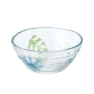東洋佐々木ガラス 小鉢 約φ12.7×5.6cm モンステラ ボウル 日本製 P-37302-J254