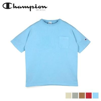 チャンピオン Champion Tシャツ 半袖 ティーテンイレブン T1011 ポケット 無地 POCKET T-SHIRT C5-T307