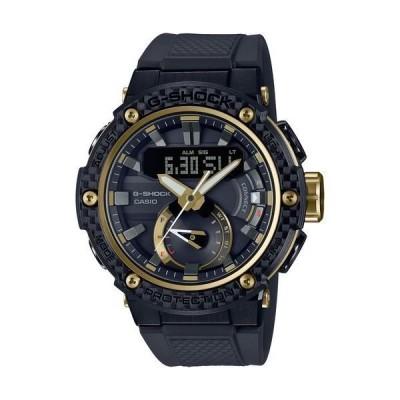 【ノベルティプレゼント】CASIO カシオ G-SHOCK Gショック G-STEEL ジースチール ブラック GST-B200X-1A9JF 腕時計